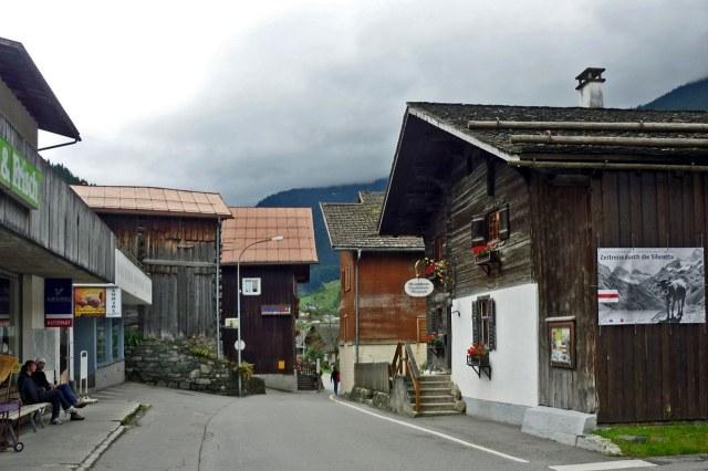 Het centrum van Gaschurn