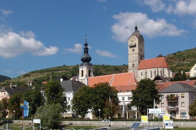 De historische stad Krems