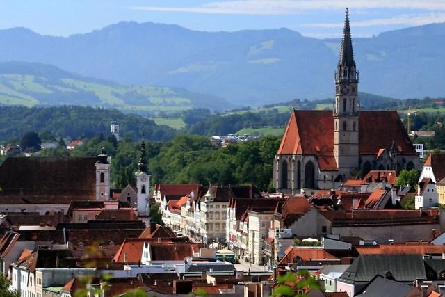 foto: Steyr in Opper-Oostenrijk