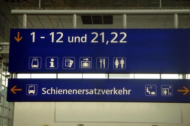 Op het station van Linz