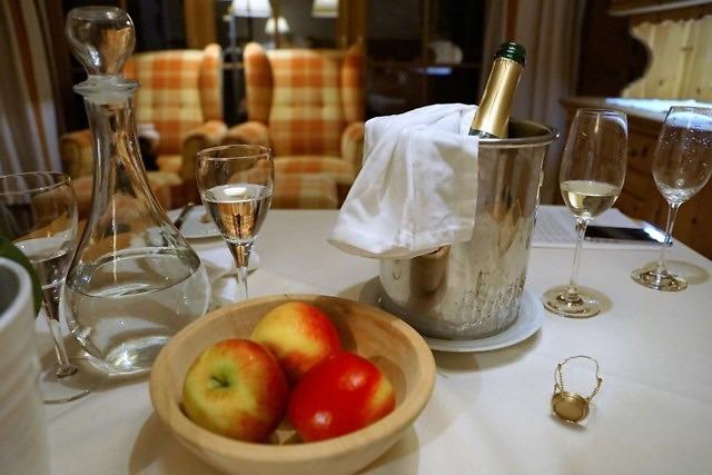 Ontbijt in een Oostenrijks hotel