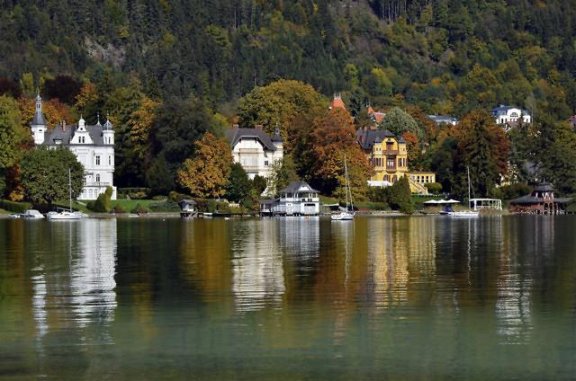 Villa's van de Wörthersee-Architektur