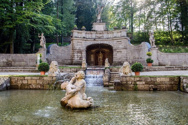 Tuinen van Schloß Hellbrunn