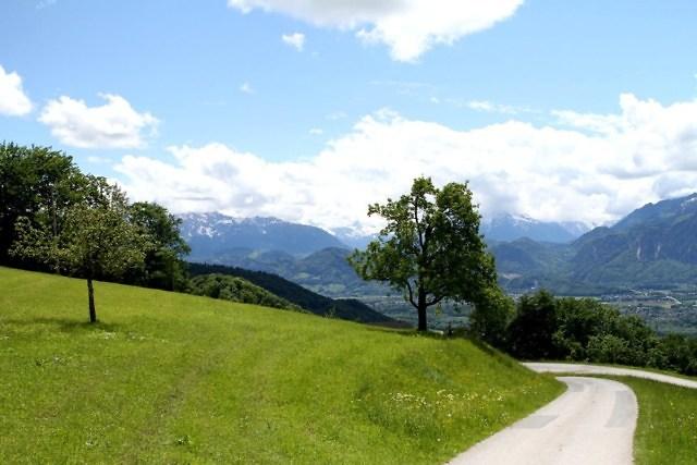 Tennengau gezien vanaf Salzburg