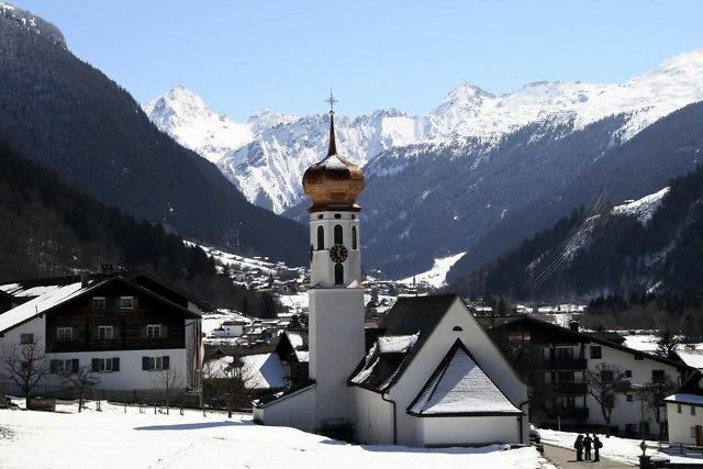 Gortipohl, in het oosten van Sankt Gallenkirch