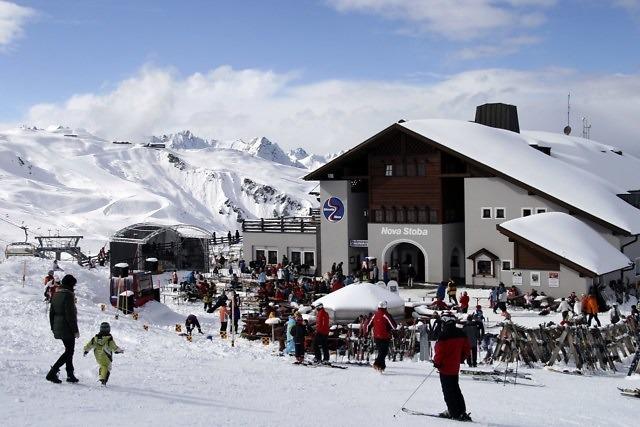 Berghut bij de Versettla Bahn