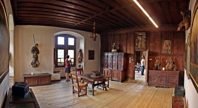 De Gotische Zimmer van de Schattenburg