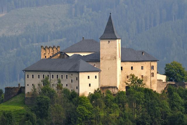 Het kasteel Schloss Straßburg