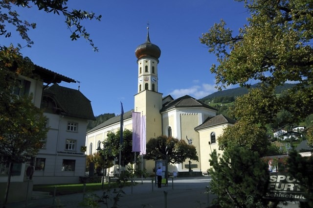 De St. Jodok van Schruns