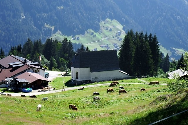Wandelen in de omgeving van Silbertal