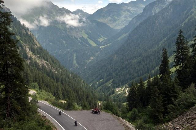 Van Partenen naar de Bielerhöhe