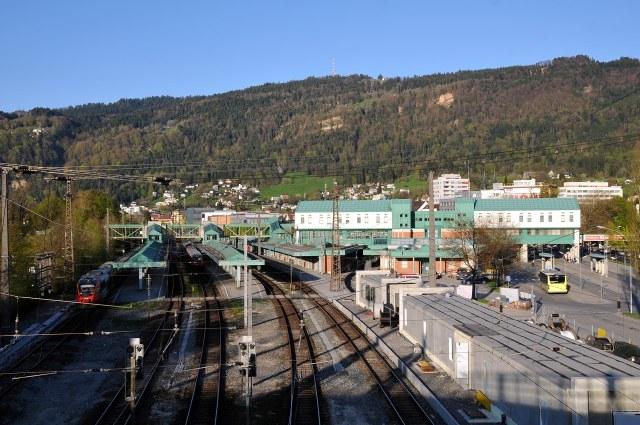 Het station van Bregenz