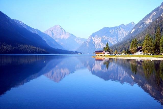De Plansee in Tirol