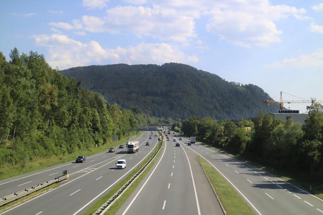 Op de Oostenrijkse snelweg is een tolvignet verplicht