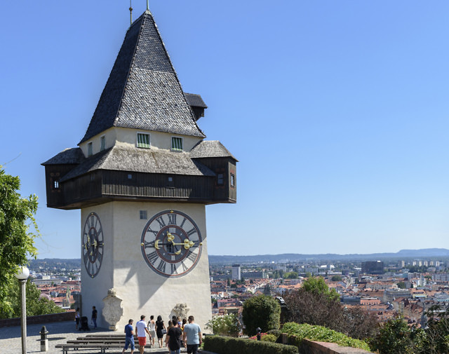 De Uhrturm van Graz