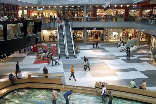Winkelcentrum ATRIO in Villach