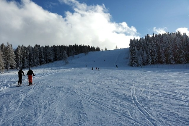 Wintersport op de Gerlitzen