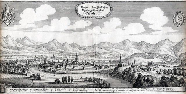 Villach in de 16e eeuw