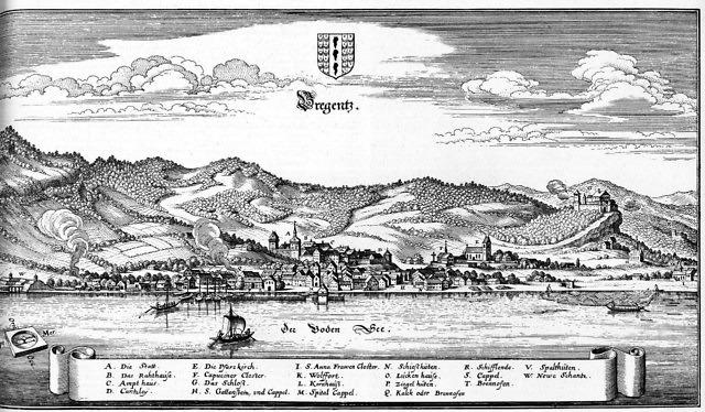 Bregenz in 1643