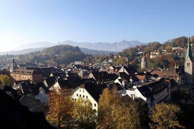 Het middeleeuwse centrum van Feldkirch