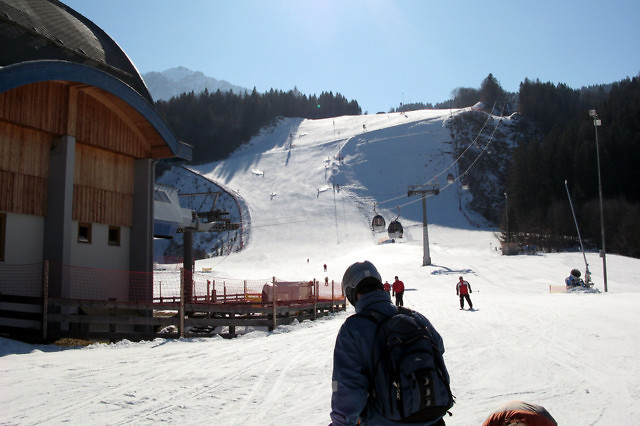 Wintersport in Nassfeld