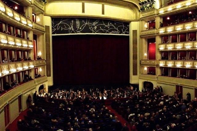 In de Weense Staatsopera